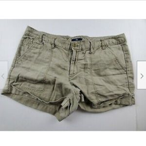 Gap Linen Blend Casual Shorts